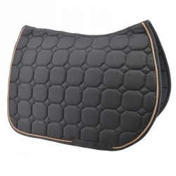 Black saddle pad  - Jumping