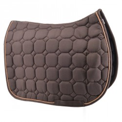 Brown saddle pad  - Jumping