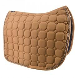Nut-brown saddle pad -...