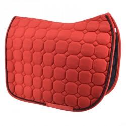 Red saddle pad - Dressage