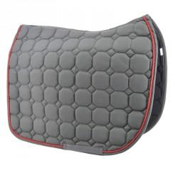 Grey Dressage saddle pad...