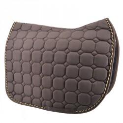 Brown Dressage saddle pad...