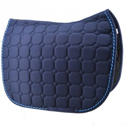 Navy saddle pad  - Jumping
