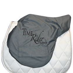 Saddle cover Time Rider Platinium