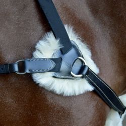 Breastplate 5 points with sheepskin