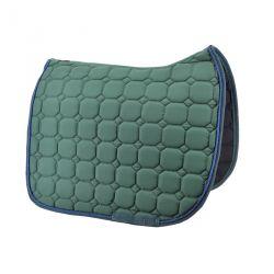 Green dressage saddle pad Time Rider