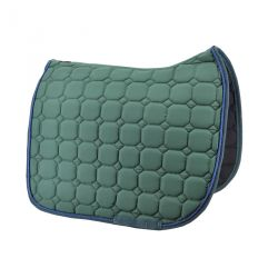 Green dressage saddle pad Time Rider