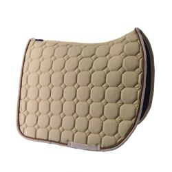 Beige dressage saddle pad Time Rider