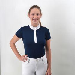 Polo de concours Pompadour - manches courtes - femme