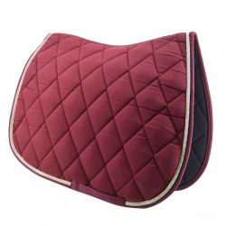Brown saddle pad - Jumping - Time Rider Sport