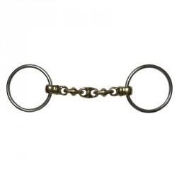 Bit 2 rings Waterford Brass