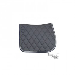 Dark grey saddle pad -...