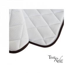 White saddle pad - Jumping...