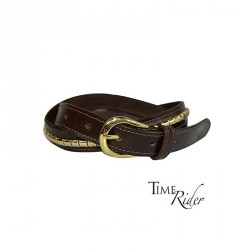 THIN LEATHER CLINCHER BELT