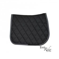 Black saddle pad - Dressage...